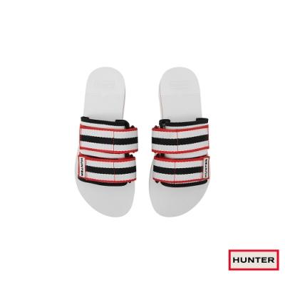 HUNTER - 女鞋-海灘厚底拖鞋 - 白