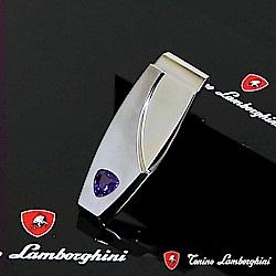 藍寶堅尼Tonino Lamborghini SCUDO Purple blue 錢夾