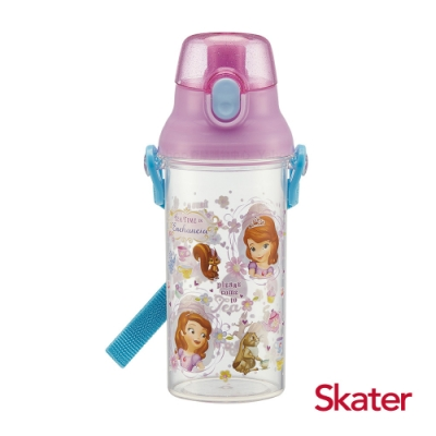 Skater直飲480ml透明水壺-蘇菲亞TEA TIME
