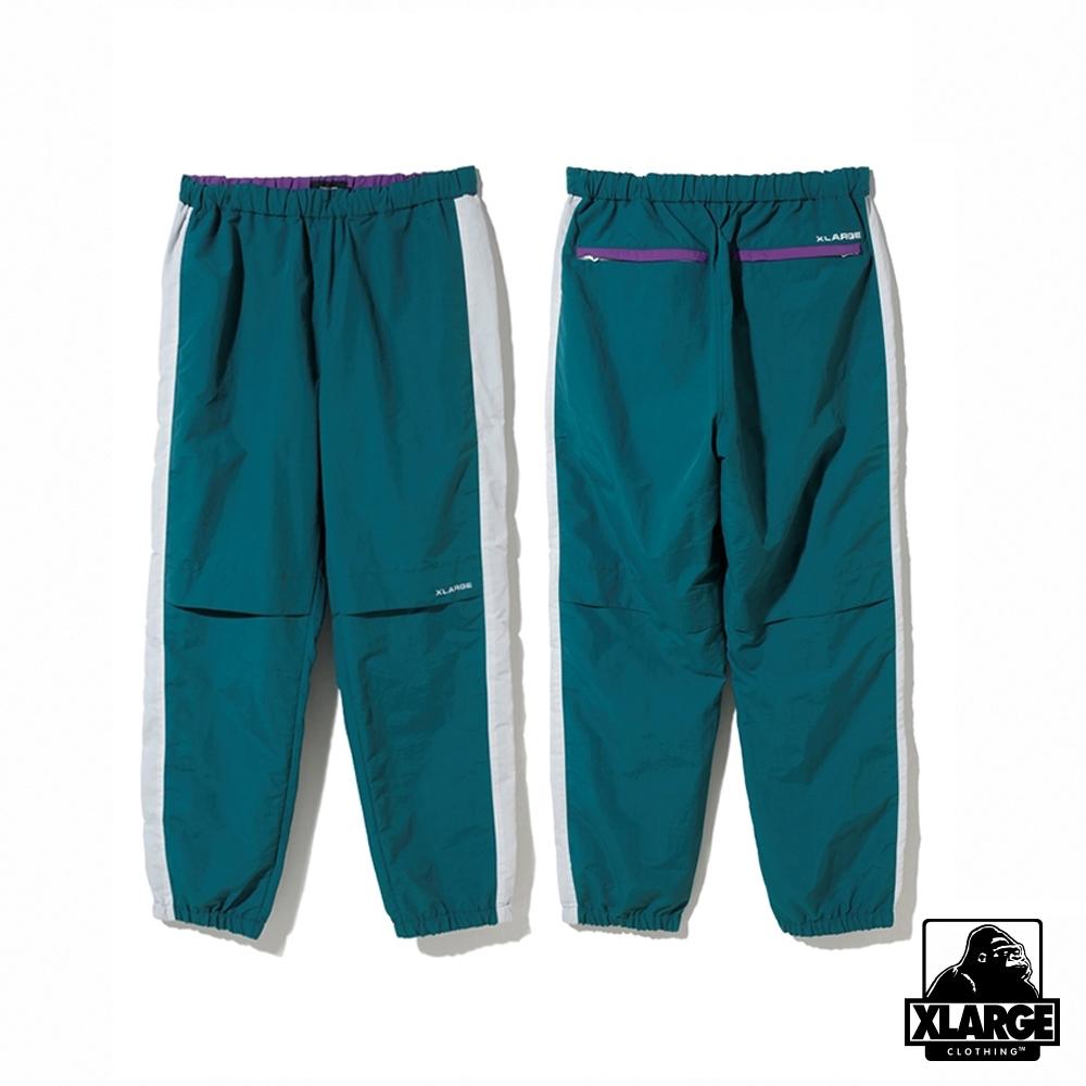 XLARGE MULTI PANELED NYLON PANT運動褲-綠