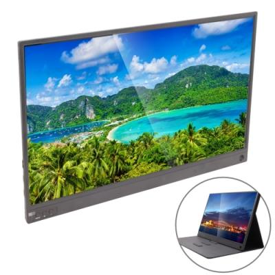 IS愛思 PLAYTV-A 15.6吋超薄型可攜式液晶螢幕 附可立式螢幕支架皮套