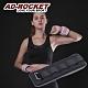 AD-ROCKET 專業加重器 綁手沙袋 綁腿沙袋 沙包 沙袋(2KG黑灰色)兩入組 product thumbnail 2