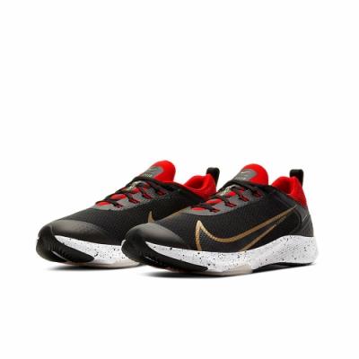 NIKE 慢跑 緩震 訓練 運動鞋 女鞋 大童 黑紅 CJ2088003 AIR ZOOM SPEED GS