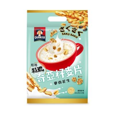 桂格 奇亞籽麥片系列-麥香花生(29gx10包)