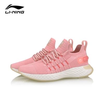 LI-NING 李寧 雲六代Element-女慢跑鞋 淺櫻粉(ARHQ002-4)