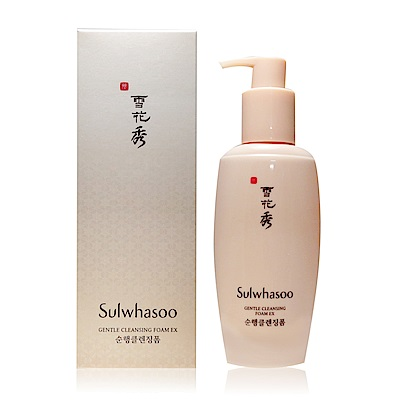(即期品)Sulwhasoo 雪花秀 順行潔顏泡沫 EX200ml-期效202001