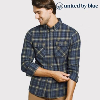 United by Blue 男格紋長袖襯衫 101-074