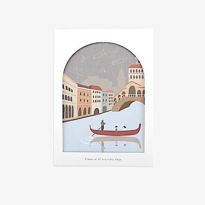 Dailylike 世界之窗卡片組-03運河