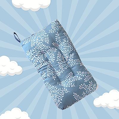 A-ONE 100%天絲 可水洗兒童枕/午睡枕/靠枕 一枕三用-葉絡