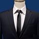 Laifuu拉福,英系拉鍊領帶中窄版領帶6CM領帶