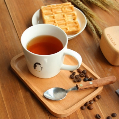 Homely Zakka 木趣食光木質方型小托盤/餐盤 (長方18*13)