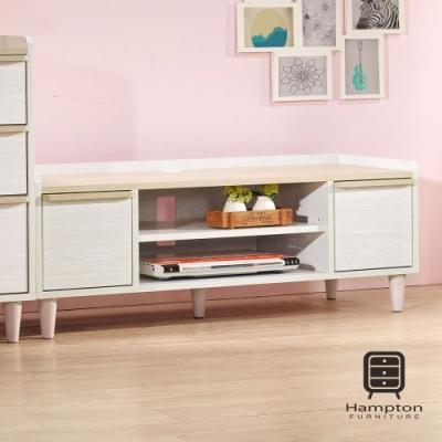 漢妮Hampton曼蒂系列淺木色4尺電視櫃-120*41*44 cm