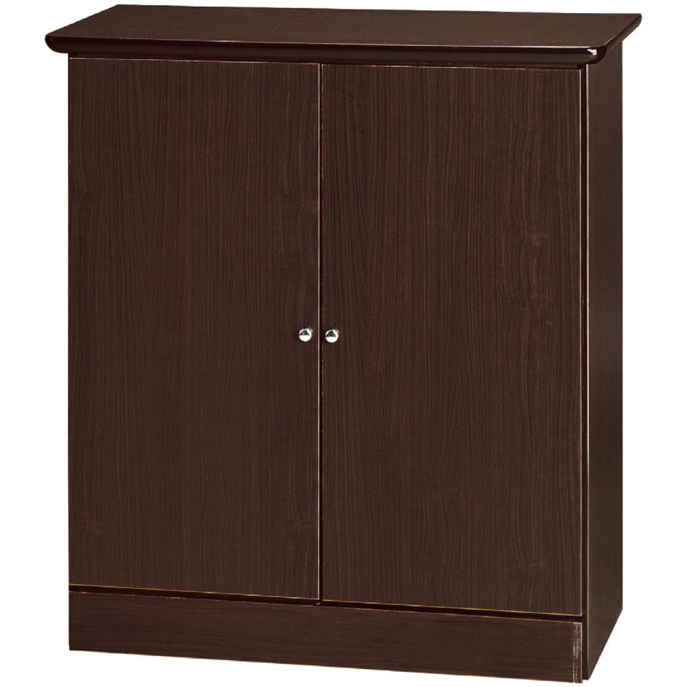 綠活居 海曼時尚2.6尺二門鞋櫃(三色)-79x34x90cm免組