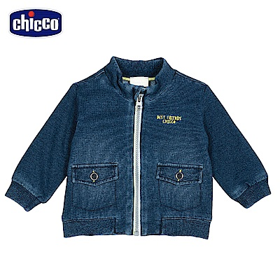 chicco-車車旅遊趣--針織牛仔外套