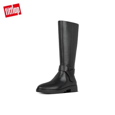 FitFlop KNOT KNEE-HIGH BOOTS 簡約時尚長靴 靚黑色