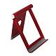 霧面金屬 摺疊式 桌面手機支架 / 手機架 支架 桌面支架-紅色款-紅色*1 product thumbnail 1