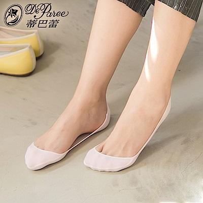 蒂巴蕾 淺口 foot wear 素面 超低止滑襪套