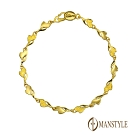MANSTYLE 開始愛 黃金手鍊 (約1.51錢)