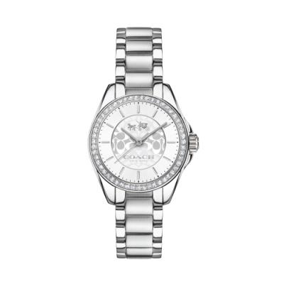 COACH 耀眼迷人時尚腕錶/白14502464