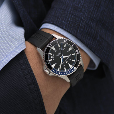 (無卡分期12期)Hamilton Khaki 碧海追蹤100米機械錶(H82315331)