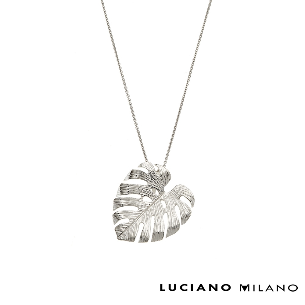 LUCIANO MILANO 浪漫微春純淨純銀墜飾(贈基本鍊)