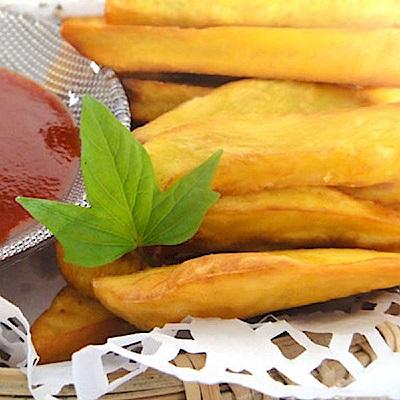 水林 地瓜薯條(1kg/包,共兩包)
