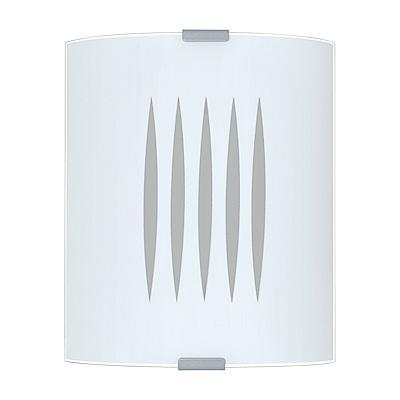 EGLO歐風燈飾 現代白盾形美型壁燈(不含燈泡)