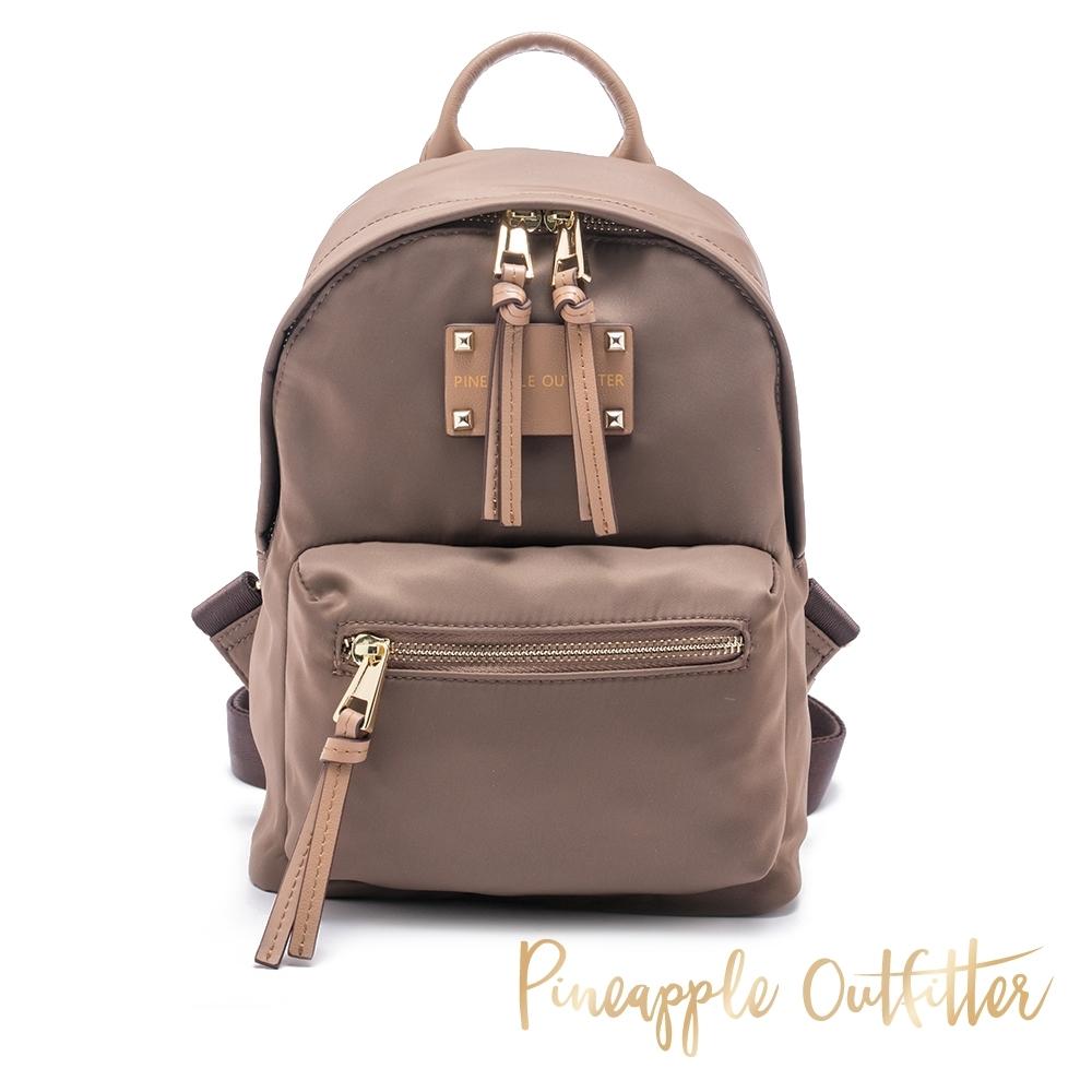 Pineapple Outfitter 輕量尼龍小款簡約百搭後背包-卡其棕