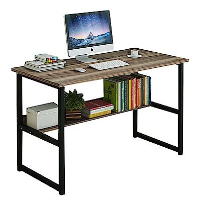 CityShop 時尚簡約多功能收納電腦桌A51-大款120公分