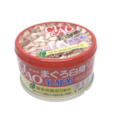 日本 CIAO 旨定罐 A-131 乳酸菌 鮪魚&鮪魚高湯 85g