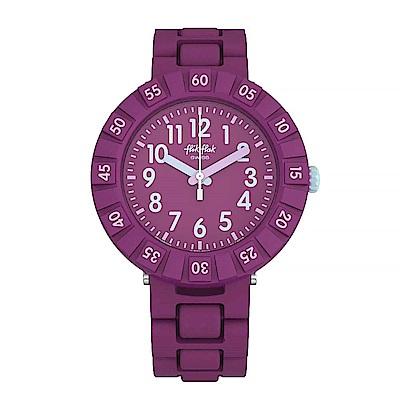 Flik Flak 兒童錶 SOLO PURPLE 紫色葡萄