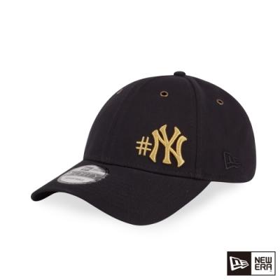 NEW ERA 9FORTY 940 水洗斜紋棉布 洋基 黑 棒球帽