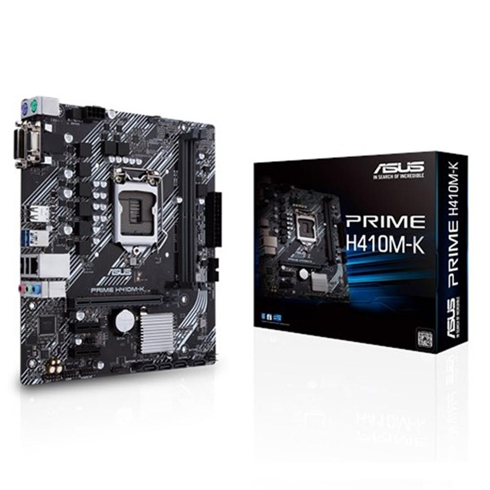 ASUS華碩 PRIME H410M-K 主機板