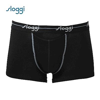 sloggi men Start HO系列合身四角褲 經典黑