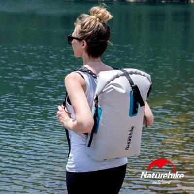Naturehike 28L便利調節TPU乾濕分離超輕防水後背袋 收納袋 背包 灰色