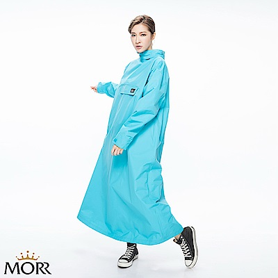MORR時尚機能風雨衣-土耳其藍NG1104-60