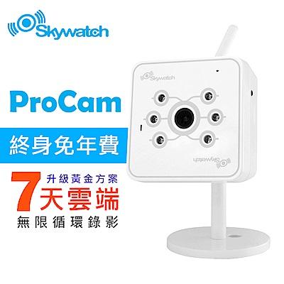 Skywatch ProCam v1.0專業型無線網路攝影機(終身雲端錄影)夜視加強版