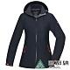 【ATUNAS 歐都納】女款GORE-TEX防水防風單件式外套A1GTAA02W黑 product thumbnail 2