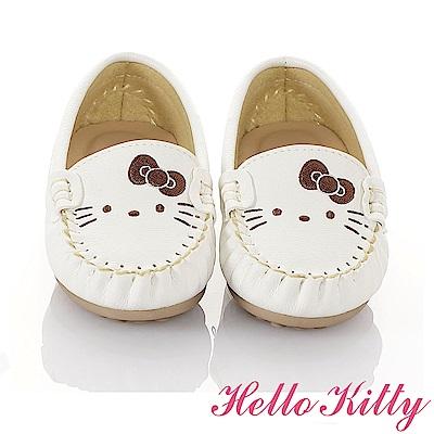 HelloKitty 親子鞋-百搭輕量柔軟減壓防滑休閒童鞋-白