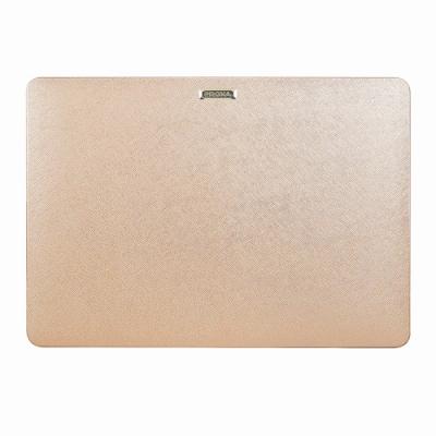 Proxa MacBook Pro 13吋 2018 防刮十字紋保護殼(玫瑰金)