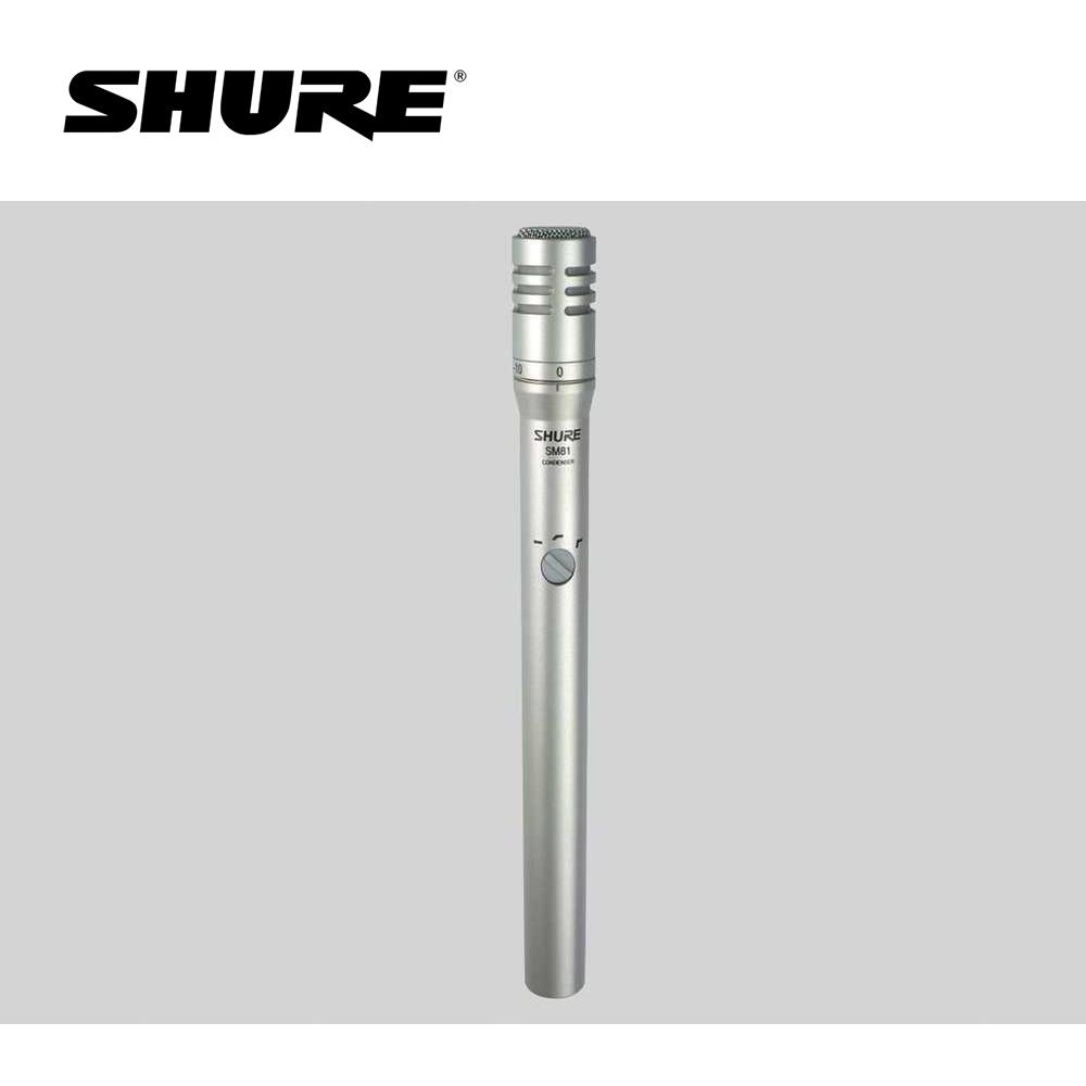 SHURE SM81 心型電容麥克風 @ Y!購物