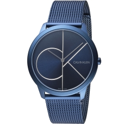 Calvin Klein minimal大 ck簡約時尚腕錶(K3M51T5N)40mm