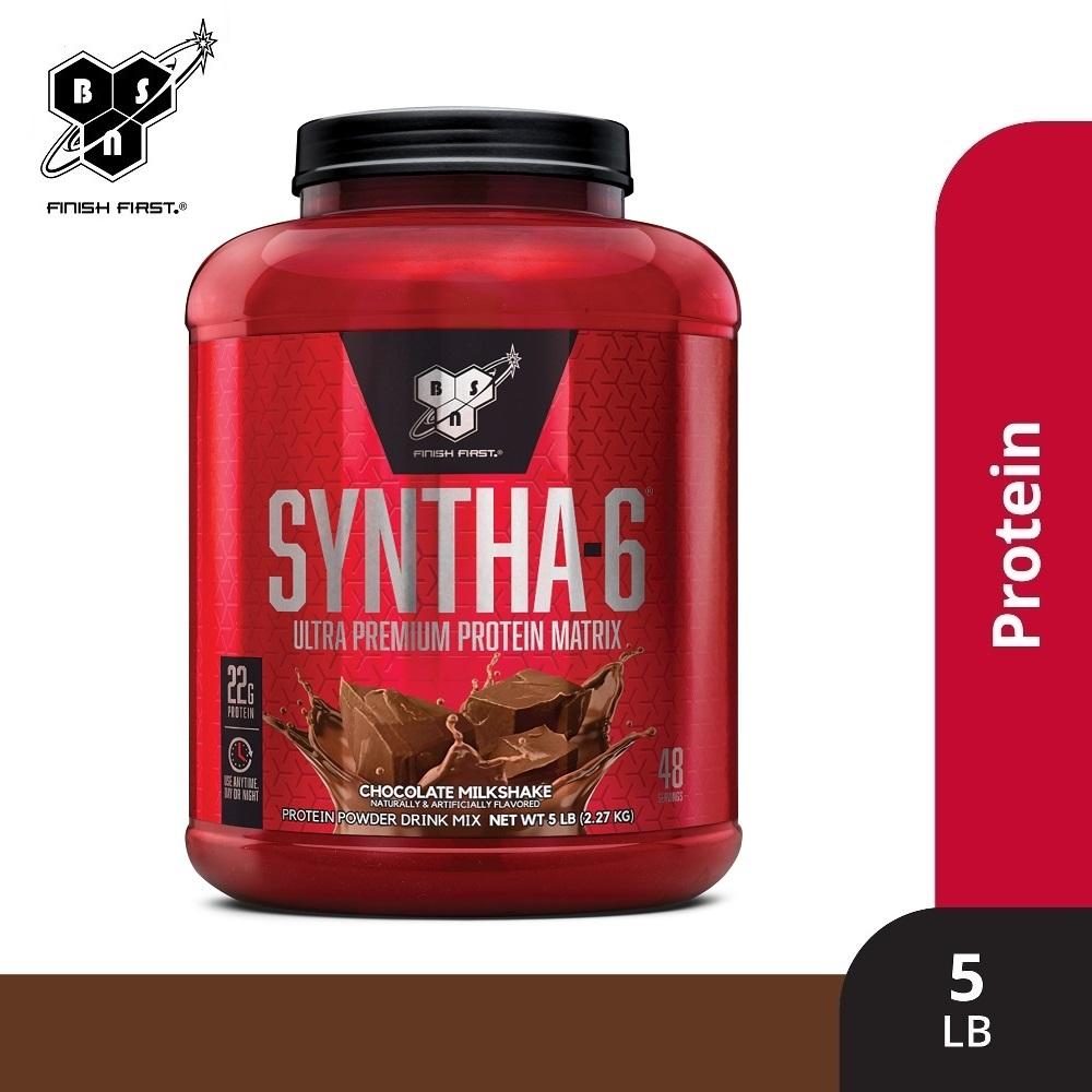 BSN Syntha-6低脂複合乳清蛋白5磅