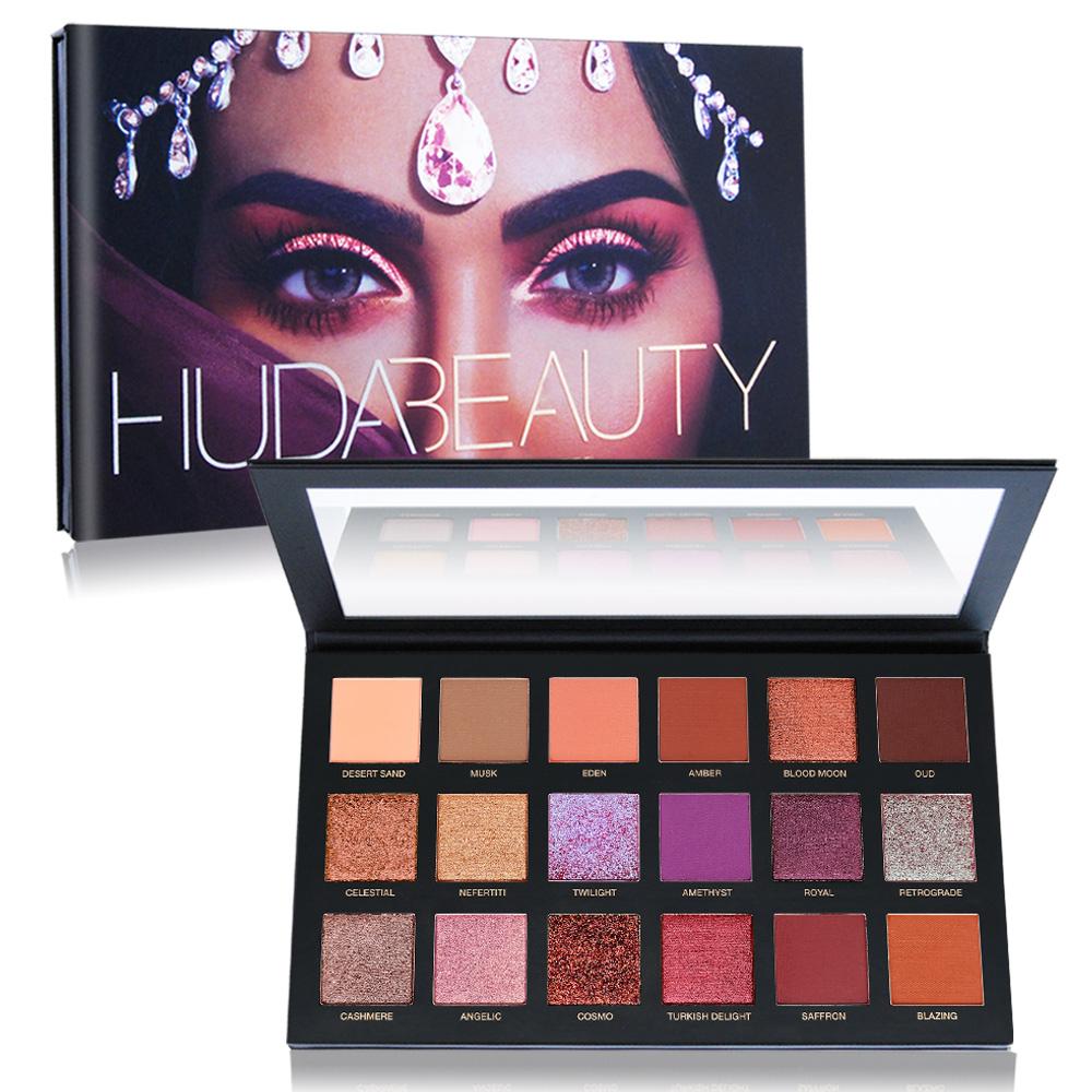Huda Beauty Desert DuskPalette沙漠黃昏18色眼影盤25.2g
