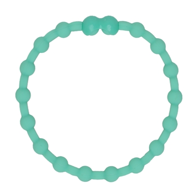 Pro Hair Tie 扣環髮圈單條組-淡綠色