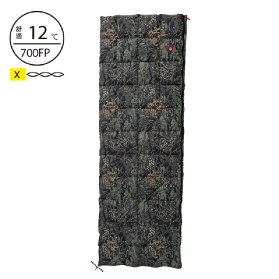 Pajak Core Blanket 19 波蘭超輕羽絨被LYNX野地山貓-迷彩 420g