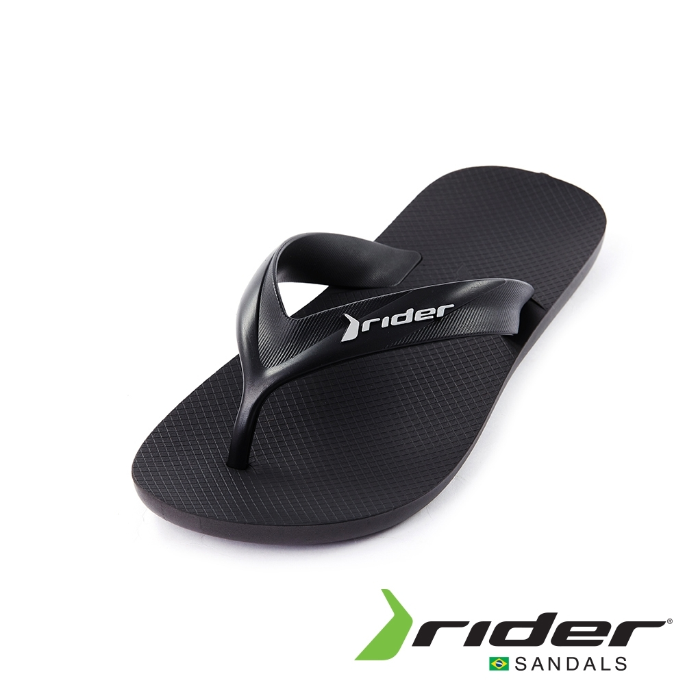 Rider STRIKE系列人字夾腳拖鞋(男款)-黑