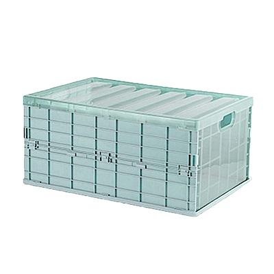 日式可折疊收納箱4入- 中尺寸 (三色)
