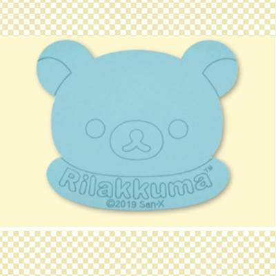 日本進口 日版 拉拉熊 懶懶熊 珪藻土 矽藻吸水墊 粉藍色