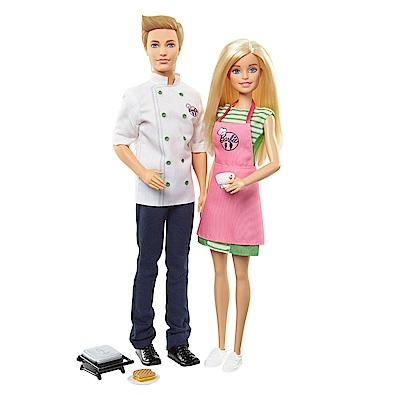 MATTEL 芭比與肯尼廚師(3Y+)